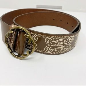 Genuine leather belt Coldwater Creek